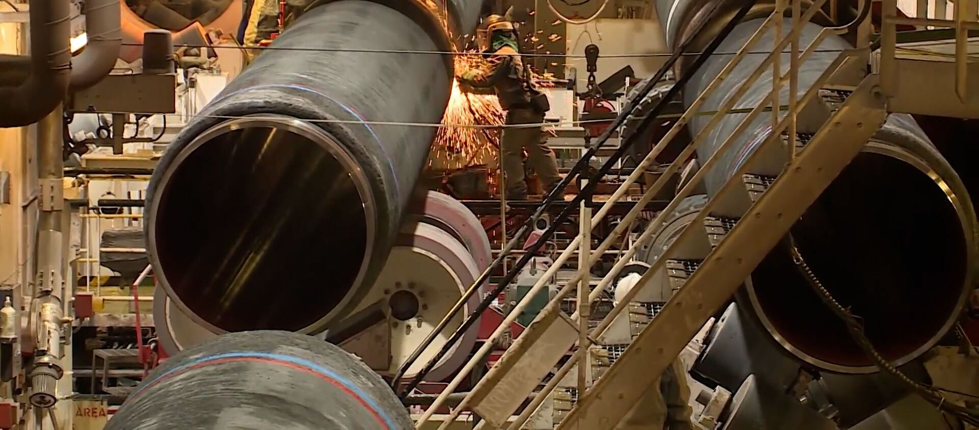 """""""Северный поток - 2"""": Польша оштрафовала """"Газпром"""" на $7,6 млрд. Что ждет газопровод - Sputnik Южная Осетия, 1920, 22.07.2021"""