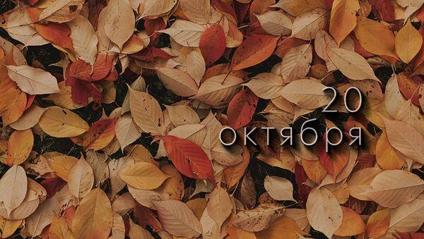 День 20 октября - Sputnik Южная Осетия