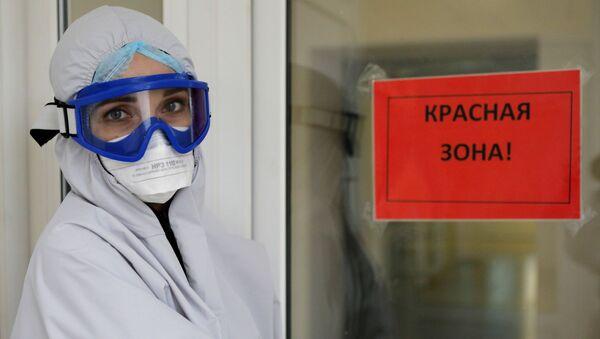 Работа ковид-госпиталя в Белгородской области - Sputnik Южная Осетия