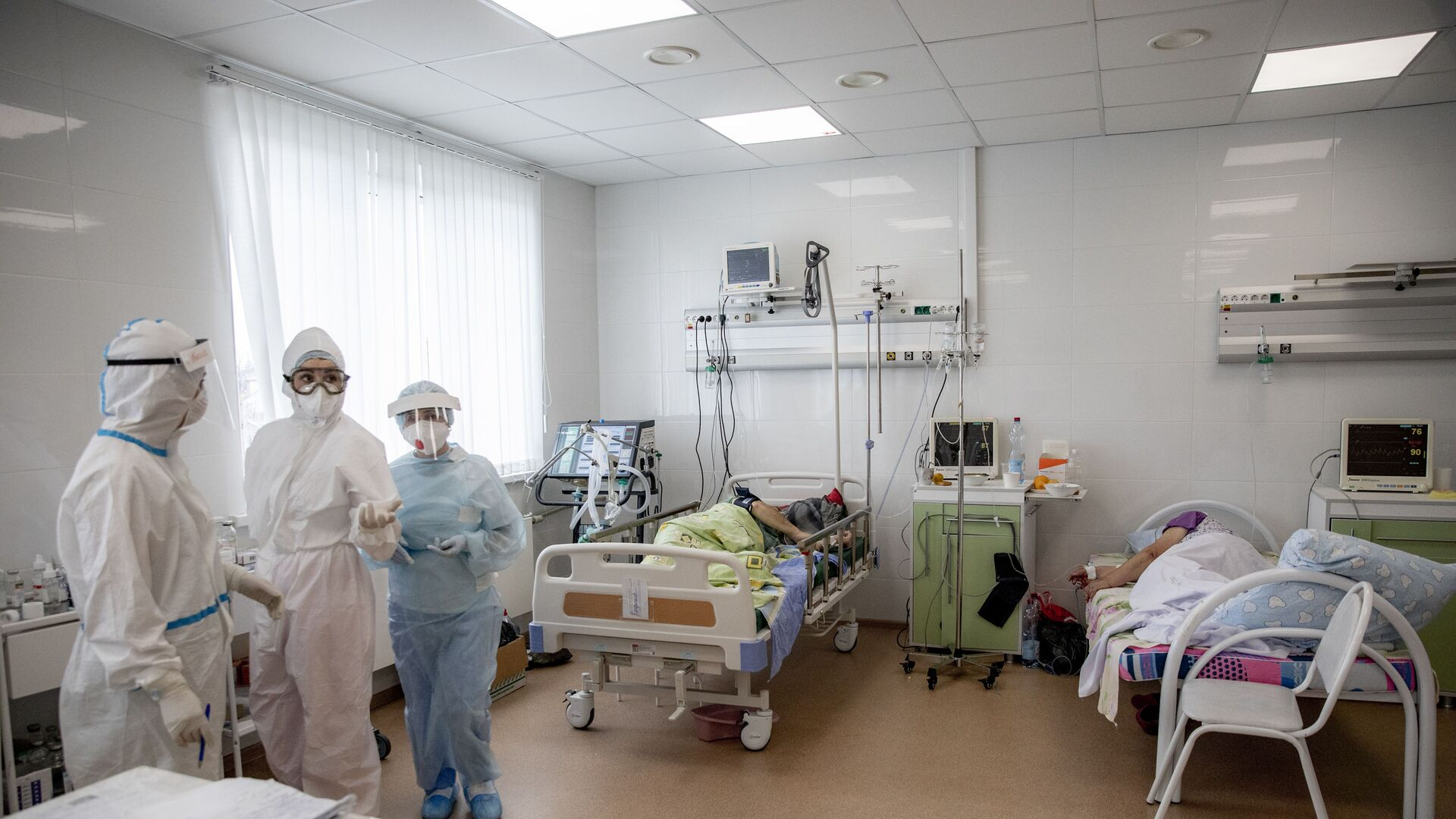 Борьба с коронавирусом в Южной Осетии: Детская больница - Sputnik Южная Осетия, 1920, 13.10.2021