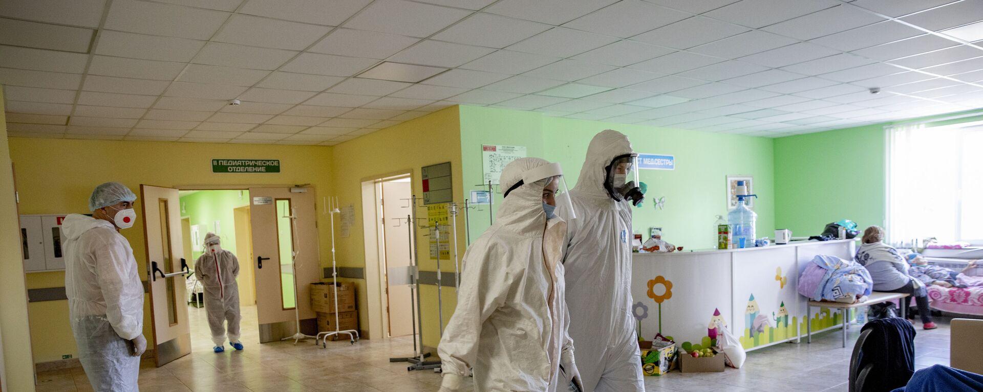 Борьба с коронавирусом в Южной Осетии: Детская больница - Sputnik Южная Осетия, 1920, 07.10.2021