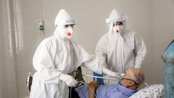 Борьба с коронавирусом в Южной Осетии: Детская больница - Sputnik Южная Осетия