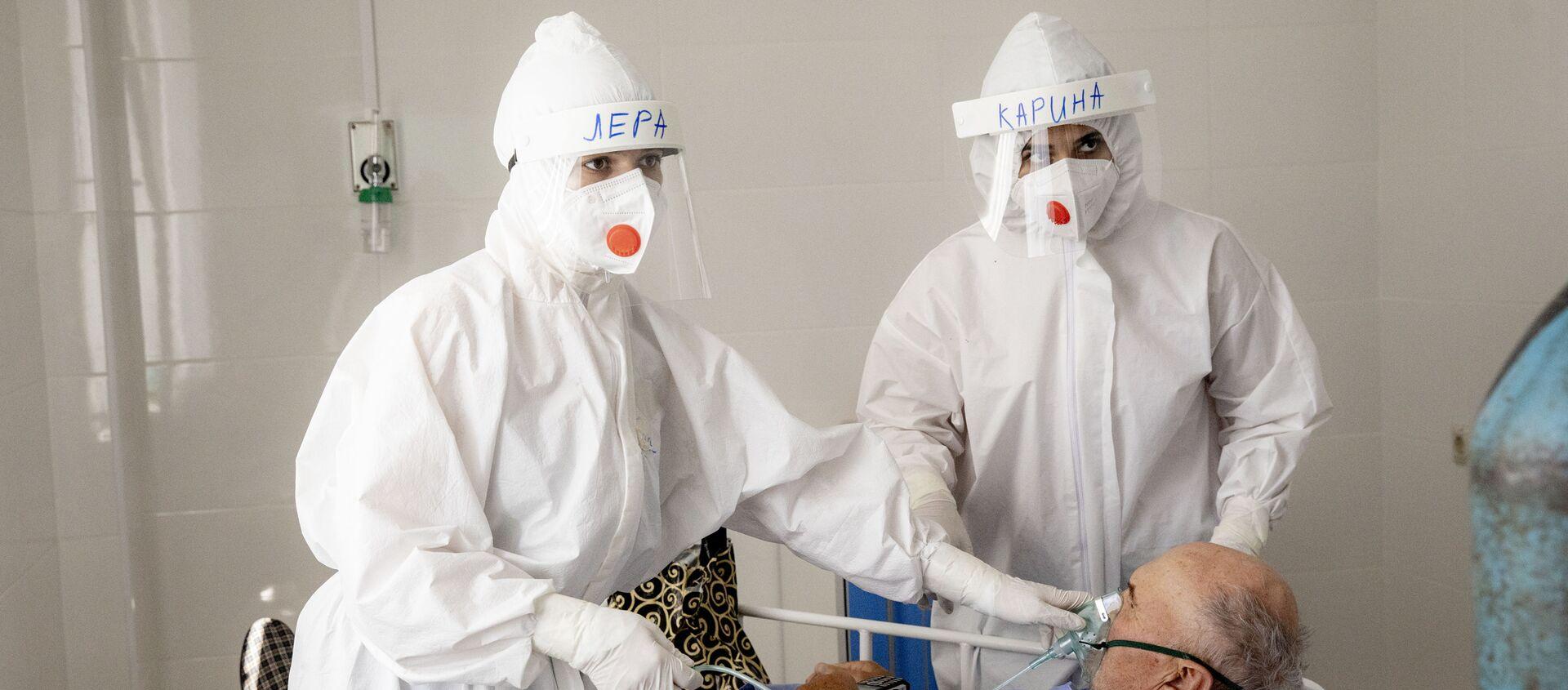Борьба с коронавирусом в Южной Осетии: Детская больница - Sputnik Южная Осетия, 1920, 10.02.2021