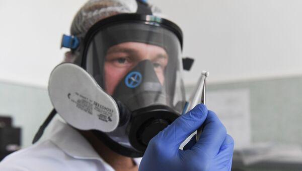 Тестирование на коронавирус. Архивное фото  - Sputnik Южная Осетия