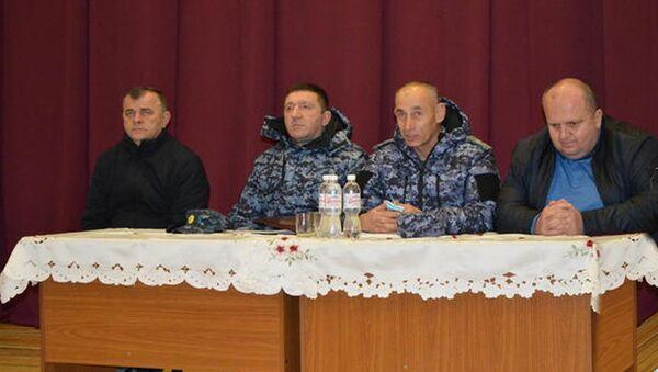 Мераб Пухаев посетил с рабочим визитом Ленингорский район - Sputnik Южная Осетия