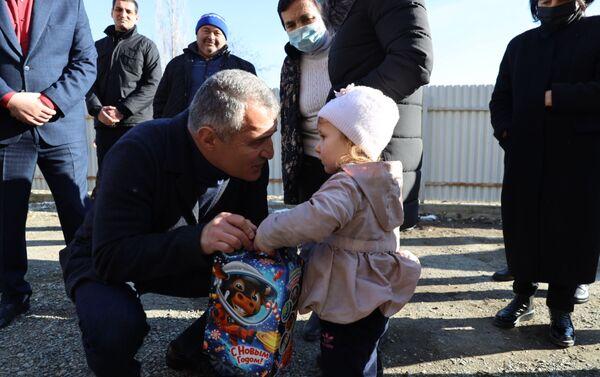 Президент Анатолий Бибилов встретился с населением Ленингорского района - Sputnik Южная Осетия