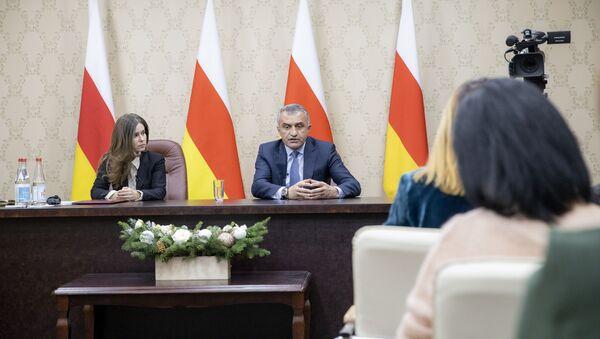 Пресс-конференция Анатолия Бибилова - Sputnik Южная Осетия