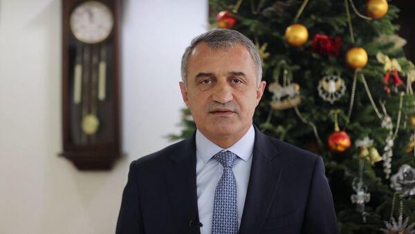 Новогоднее обращение Анатолия Бибилова к народу Южной Осетии - Sputnik Южная Осетия