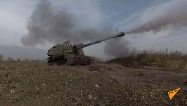 В Северной Осетии батальонная тактическая группа уничтожила противника в горах Кавказского хребта - Sputnik Южная Осетия