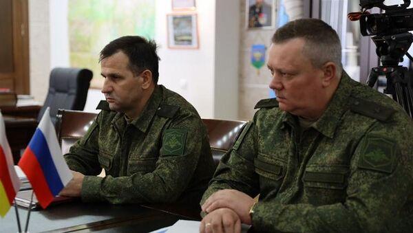 Встреча с Командующим 58-й армией Михаилом Зусько - Sputnik Южная Осетия