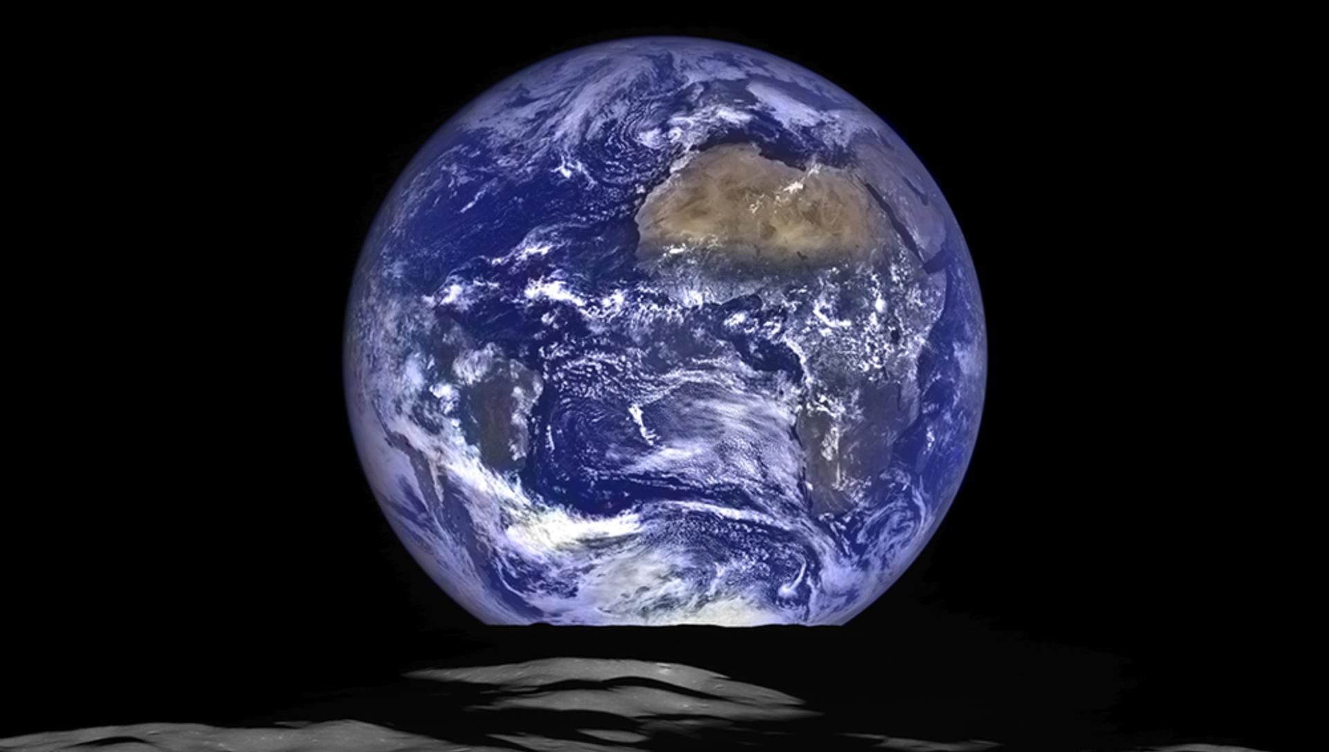 Вид Земли с орбиты Луны - Sputnik Южная Осетия, 1920, 20.02.2021