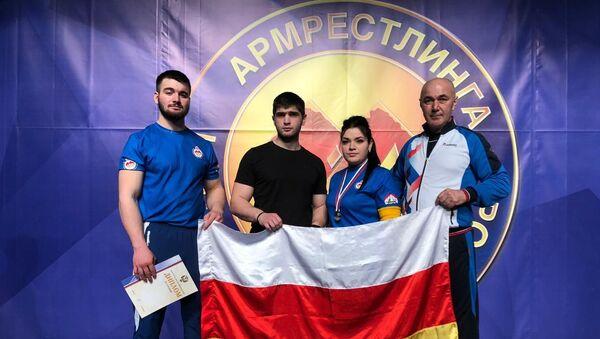 Армрестлеры из Южной Осетии стали призерами первенства России  - Sputnik Южная Осетия