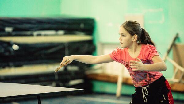 Занятия настольным теннисом в Южной Осетии - Sputnik Южная Осетия
