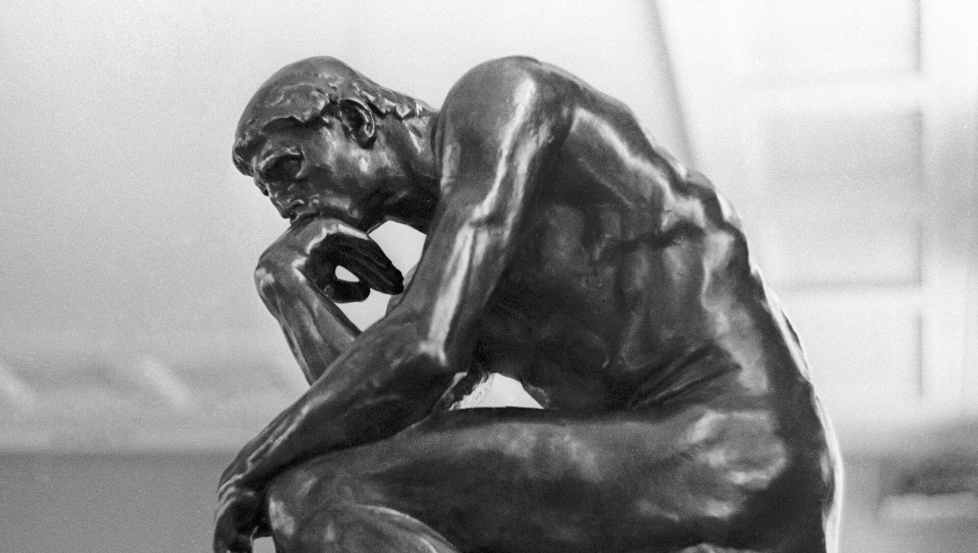 Скульптура Огюста Родена Мыслитель - Sputnik Южная Осетия, 1920, 17.03.2021