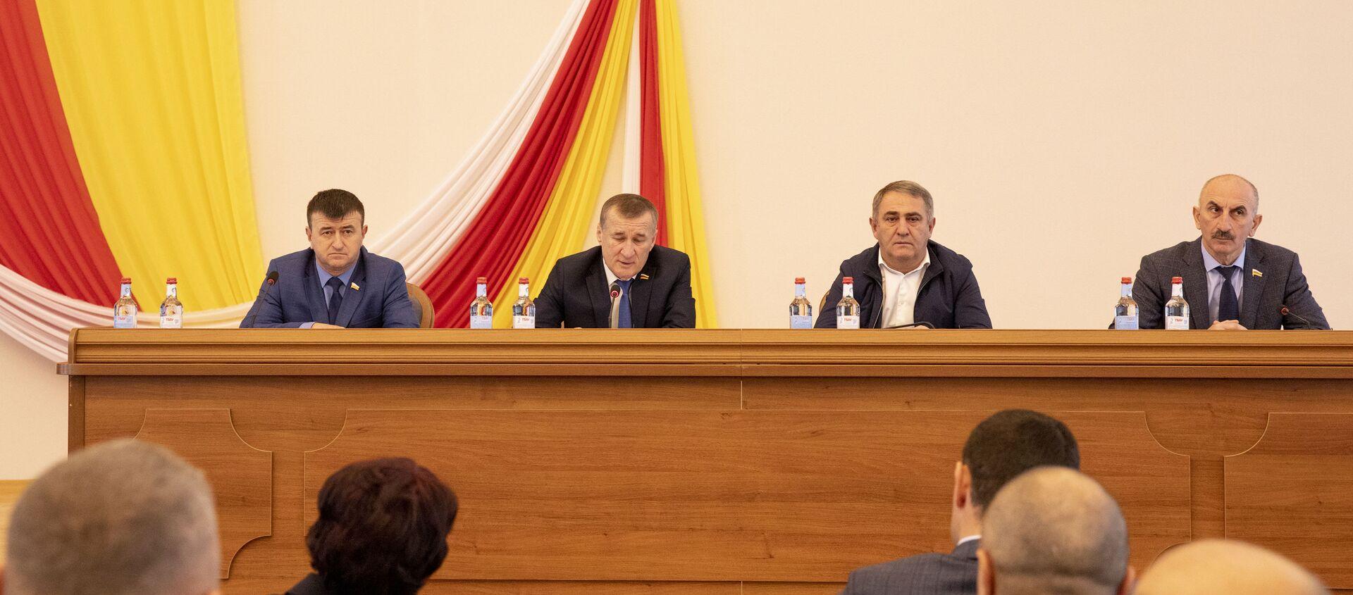 Сессия Парламента РЮО - Sputnik Южная Осетия, 1920, 14.07.2021