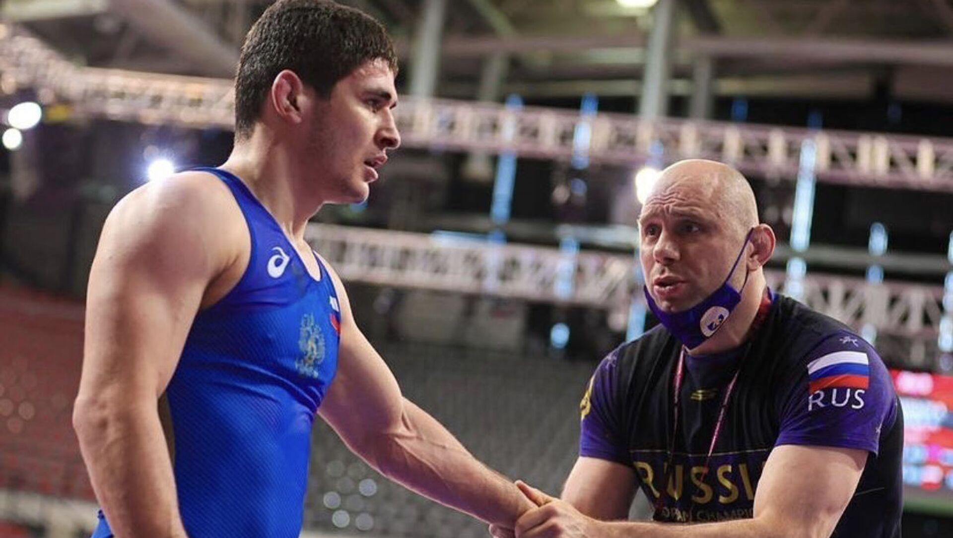 Чермен Валиев стал победителем первенства Европы по вольной борьбе U23 - Sputnik Южная Осетия, 1920, 03.10.2021
