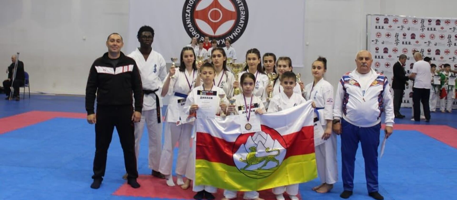 Югоосетинские спортсмены завоевали 7 медалей на Международном турнире MOSCOW CUP 2021 по киокусинкай - Sputnik Южная Осетия, 1920, 02.06.2021