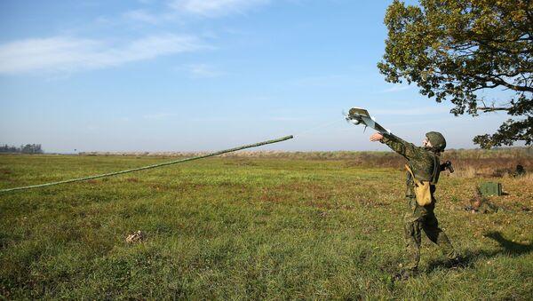Учения соединения спецназначения ЮВО - Sputnik Южная Осетия