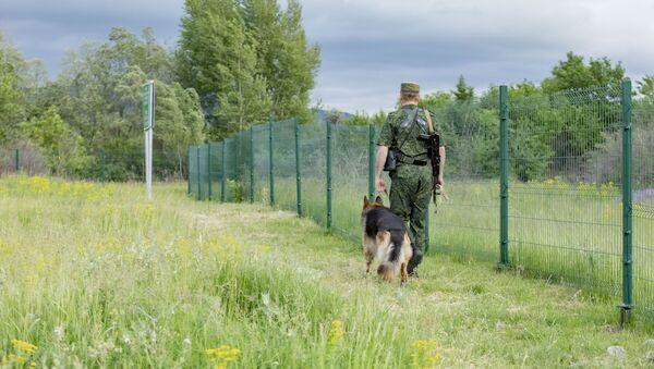 Пограничная зона - Sputnik Южная Осетия