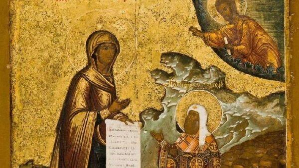 Боголюбская икона Божией Матери  - Sputnik Южная Осетия