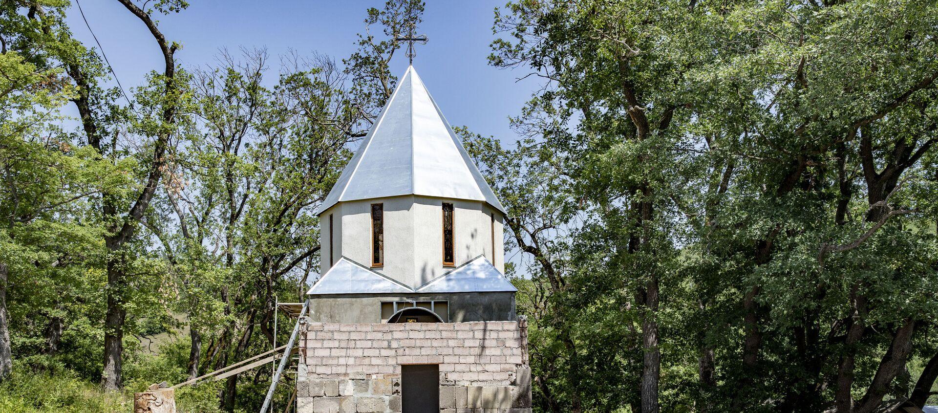 Храм в селе Ход - Sputnik Южная Осетия, 1920, 06.07.2021