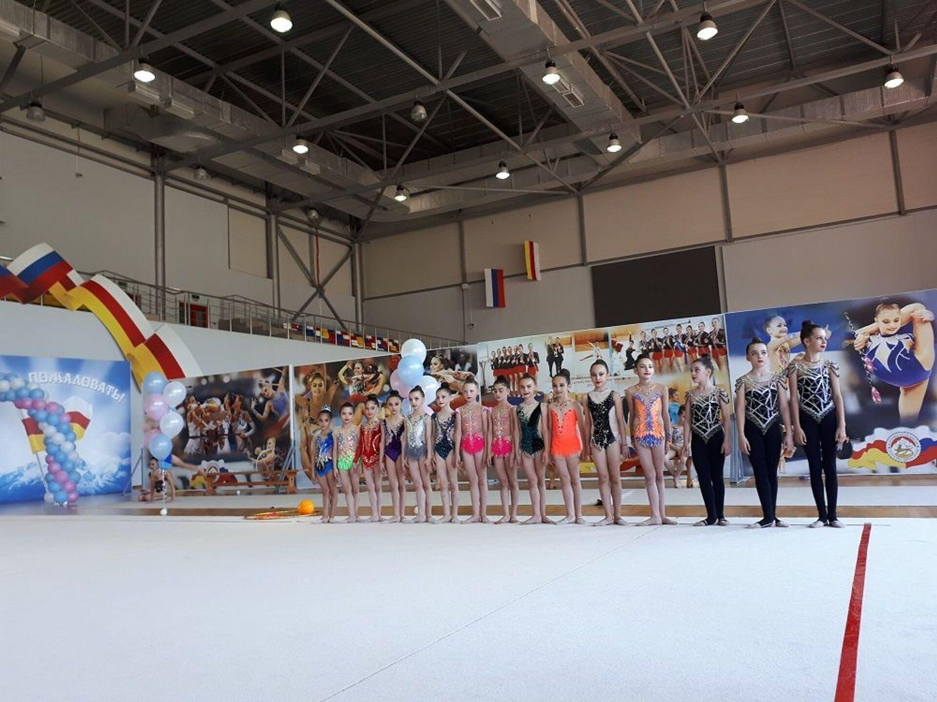 В Цхинвале проходит Кубок Федерации художественной гимнастики - Sputnik Южная Осетия, 1920, 03.07.2021