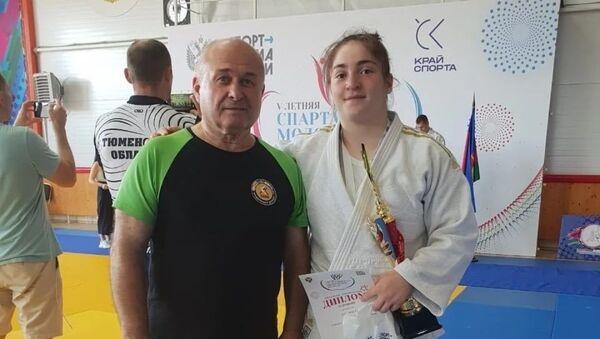 Дзюдоистка из Южной Осетии Алана Алборова стала победительницей летней Спартакиады - Sputnik Южная Осетия
