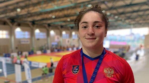 Алана Алборова из Цхинвала завоевала Кубок Европы по дзюдо среди юниорок - Sputnik Южная Осетия