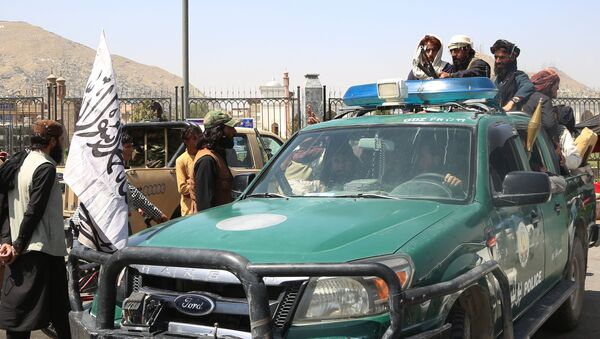 Талибы в Кабуле  - Sputnik Южная Осетия