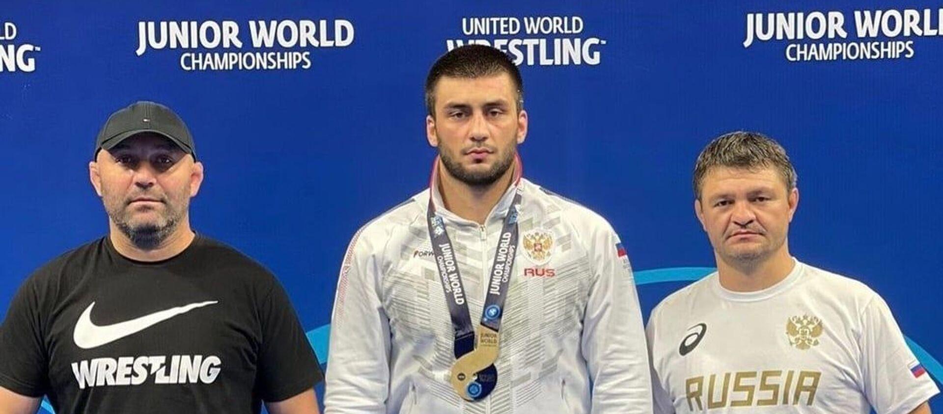 Андрей Бестаев стал бронзовым призером первенства мира среди юниоров до 21 года. - Sputnik Южная Осетия, 1920, 19.08.2021