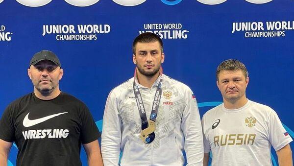Андрей Бестаев стал бронзовым призером первенства мира среди юниоров до 21 года. - Sputnik Южная Осетия