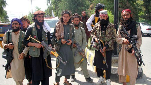Боевики запрещенной в РФ террористической организации Талибан - Sputnik Южная Осетия