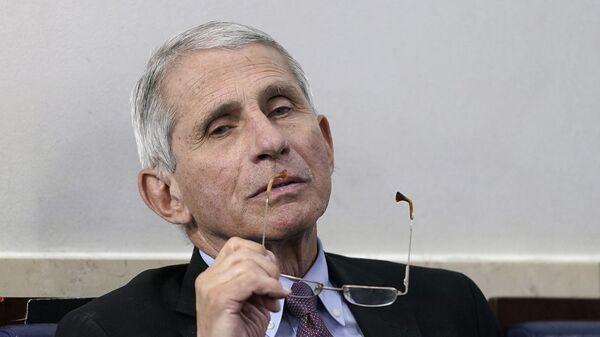 Американский учёный-медик, иммунолог и инфекционист Энтони Фаучи - Sputnik Южная Осетия