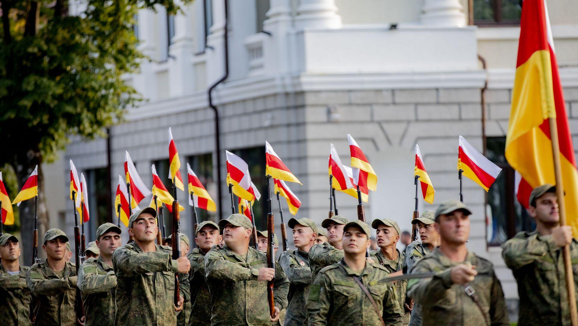 Репетиция Парада ко дню Республики - Sputnik Южная Осетия, 1920, 17.09.2021