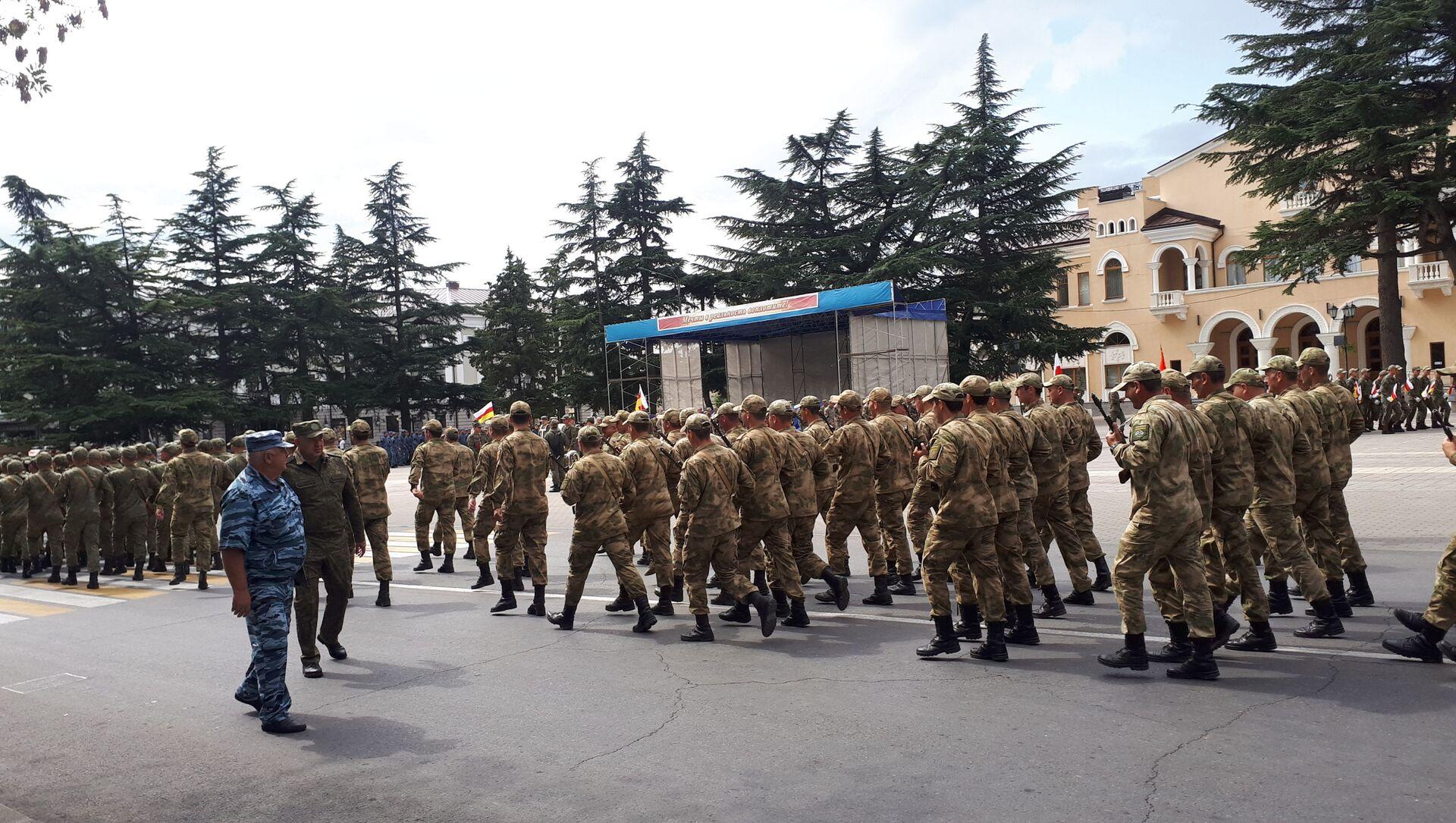 Генеральная репетиция парада - Sputnik Южная Осетия, 1920, 17.09.2021