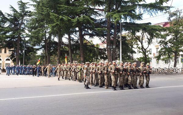 Генеральная репетиция парада - Sputnik Южная Осетия