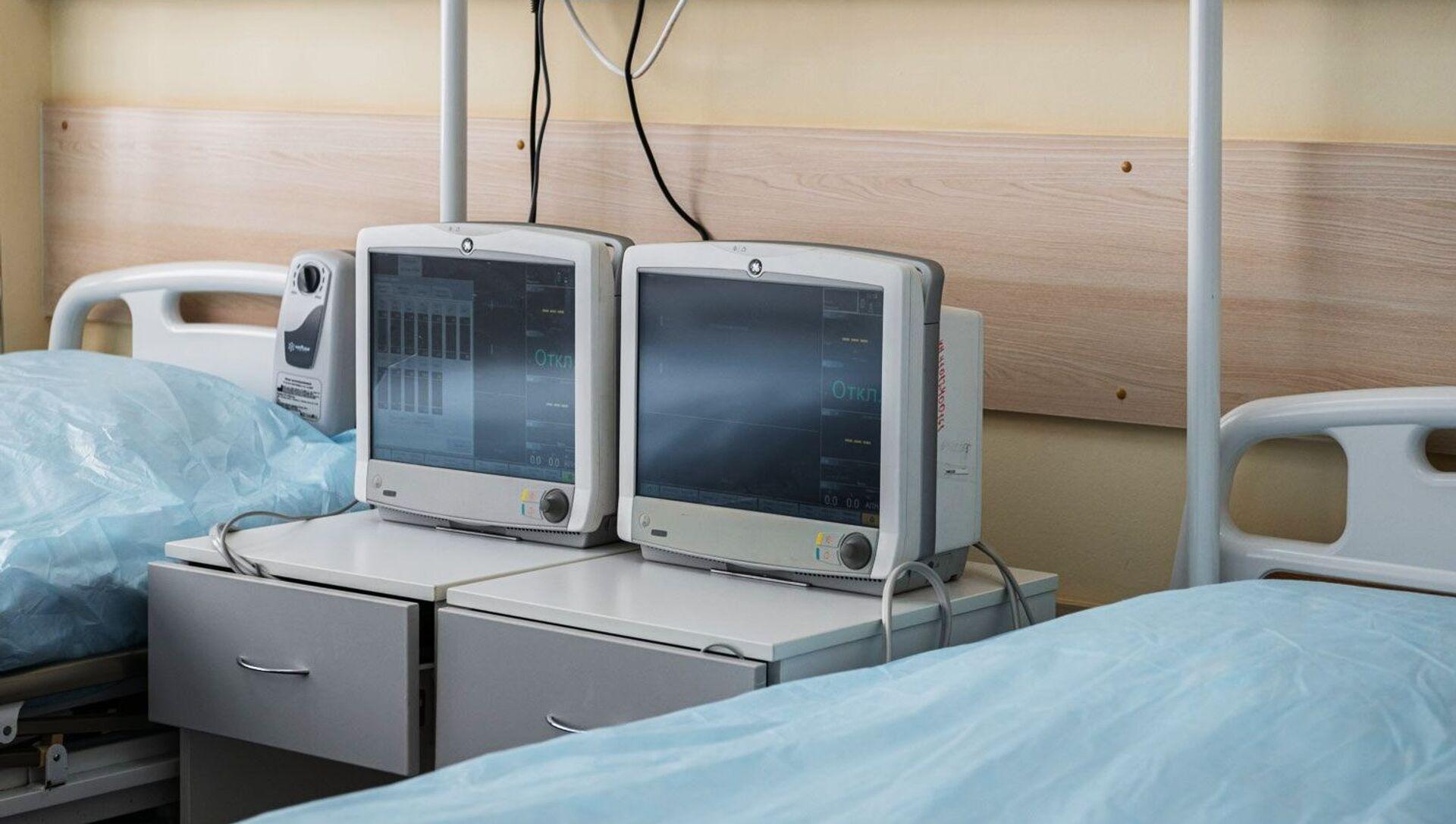 Открытие стационара для пациентов с COVID-19 в ГКБ №15 им. Филатова - Sputnik Южная Осетия, 1920, 04.10.2021