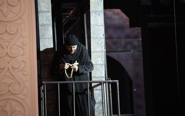Спектакль Ричард III на сцене госдрамтеатра в Цхинвале - Sputnik Южная Осетия