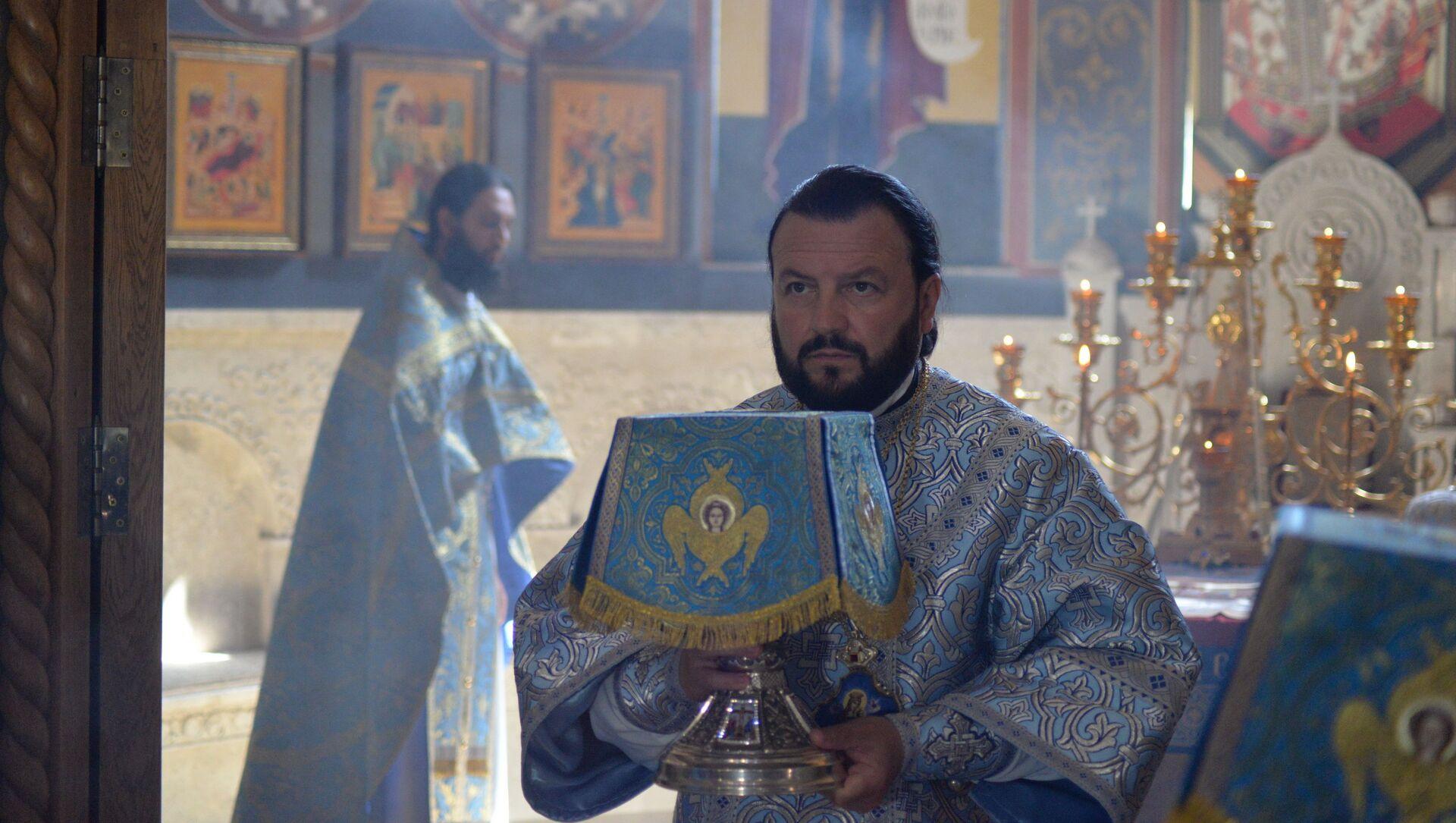Архиепископ Владикавказский и Аланский Леонид - Sputnik Южная Осетия, 1920, 28.09.2021