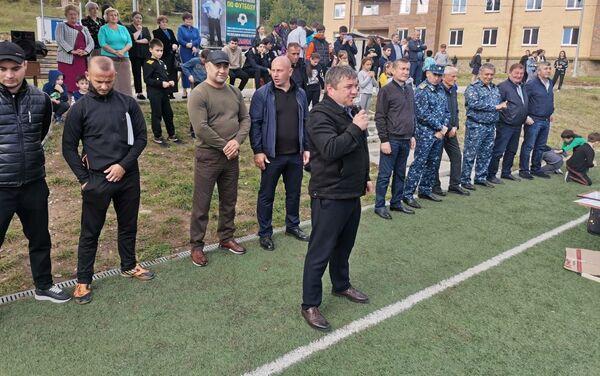Бежанты Зелимы номарӕн турнир футболæй - Sputnik Хуссар Ирыстон