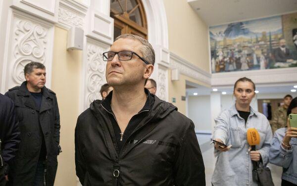 Замминистра экономики РФ Дмитрий Вольвач посетил объекты инвестпрограммы - Sputnik Южная Осетия