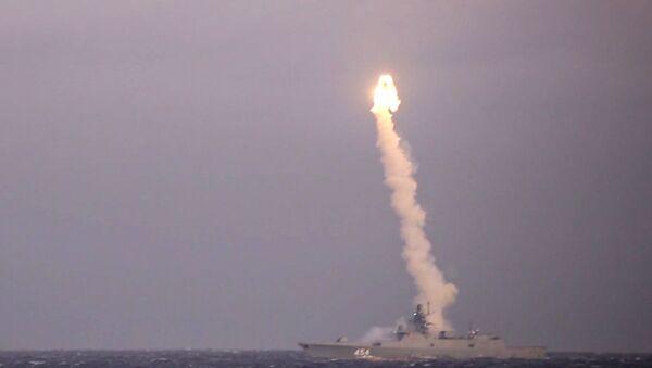 Фрегат Адмирал Горшков провел успешный пуск ракеты Циркон - Sputnik Южная Осетия