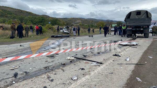 Авария на трассе Дзау-Цхинвал - Sputnik Южная Осетия