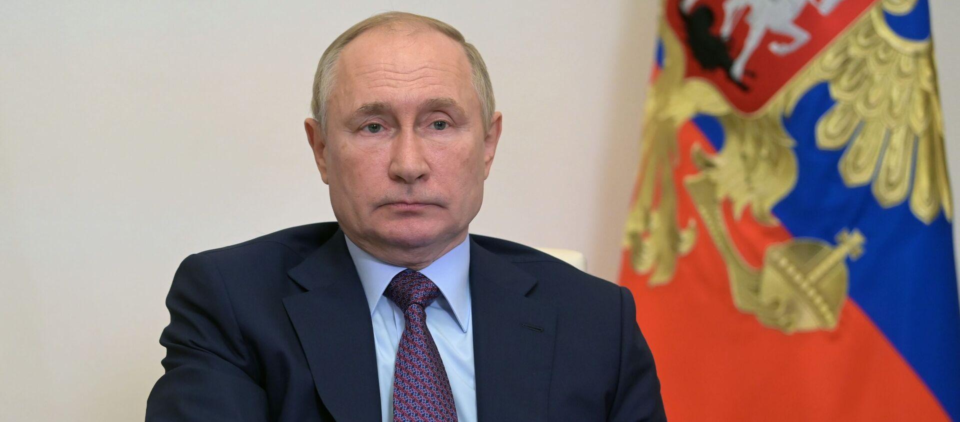 Президент РФ В. Путин провел совещание по вопросам развития энергетики - Sputnik Южная Осетия, 1920, 07.10.2021
