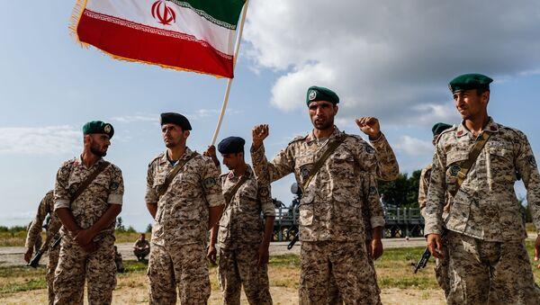 Иранские военнослужащие. Архивное фото - Sputnik Южная Осетия