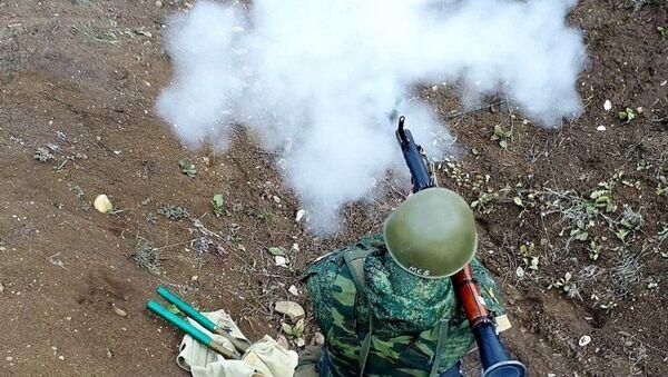 Учения мотострелков в Южной Осетии  - Sputnik Южная Осетия