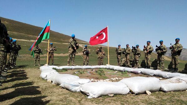 Совместные тактические учения Турции и Азербайджана. Архивное фото - Sputnik Южная Осетия
