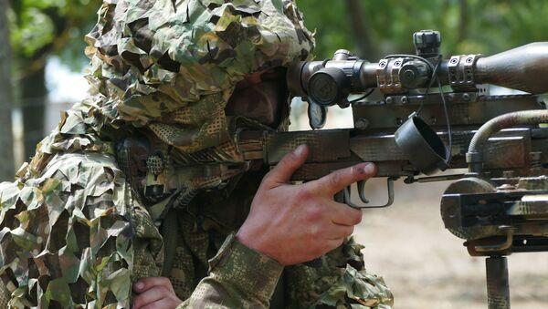 Украинский военнослужащий. Архивное фото - Sputnik Южная Осетия