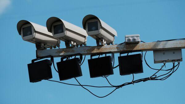 Камеры фиксации нарушений правил дорожного движения. Архивное фото - Sputnik Южная Осетия