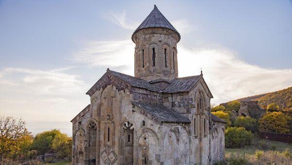 Храм в Икорта - Sputnik Южная Осетия